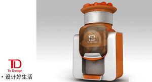 商用橙子榨汁机